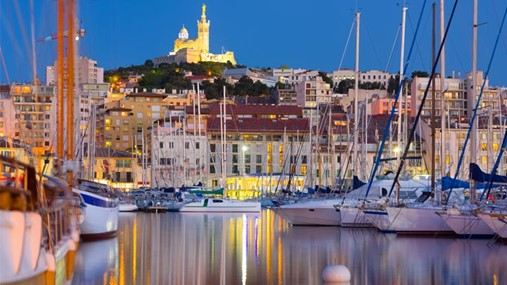 Sailing in France, Marseille Region