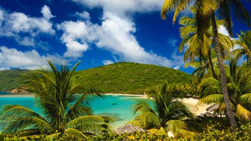 Sailing in the Caribbean, British Virgin Islands
