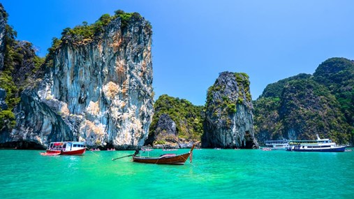 Sailing in Thailand, Phuket Region